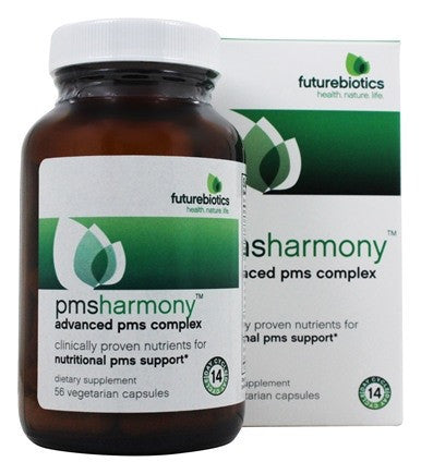 Buy Futurebiotics, PMSHarmony, 56 Vegetarian Capsules at Herbal Bless Supplement Store