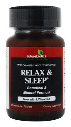 Buy Futurebiotics, Relax & Sleep, 60 Vegetarian Tablets at Herbal Bless Supplement Store