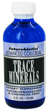 Buy Futurebiotics, Trace Minerals (Colloidal), Vegetarian, 4 oz at Herbal Bless Supplement Store