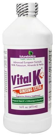 Buy Futurebiotics, Vital Potassium with Ginseng Extra, 16 oz at Herbal Bless Supplement Store