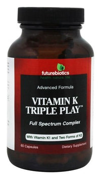 Buy Futurebiotics, Vitamin K Triple Play, 60 capsule at Herbal Bless Supplement Store
