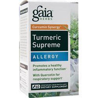 Buy Gaia Herbs, Curcumin Synergy Turmeric Supreme - Allergy, 60 vcaps at Herbal Bless Supplement Store