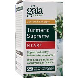 Buy Gaia Herbs, Curcumin Synergy Turmeric Supreme - Heart, 60 vcaps at Herbal Bless Supplement Store