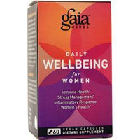 Buy Gaia Herbs, Daily Wellbeing for Women, 60 vcaps at Herbal Bless Supplement Store