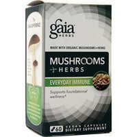 Buy Gaia Herbs, Mushrooms + Herbs at Herbal Bless Supplement Store
