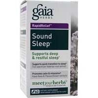 Buy Gaia Herbs, Rapid Relief - Sound Sleep, 60 vcaps at Herbal Bless Supplement Store