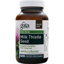 Buy Gaia Herbs, Single Herbs - Milk Thistle Seed at Herbal Bless Supplement Store