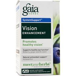 Buy Gaia Herbs, Vision Enhancement, 60 lcaps at Herbal Bless Supplement Store
