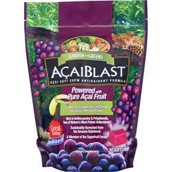 Buy Garden Greens, AcaiBlast (300mg) Chews, 30 chews at Herbal Bless Supplement Store