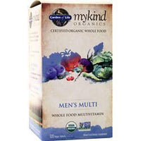 Buy Garden Of Life, Kind Organics - Men's Multi, 120 tabs at Herbal Bless Supplement Store