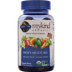 Buy Garden Of Life, My Kind Organics - Men's Multi 40+, Organic Berry 120 gummy at Herbal Bless Supplement Store
