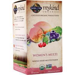 Buy Garden Of Life, My Kind Organics - Women's Multi, 120 tabs at Herbal Bless Supplement Store