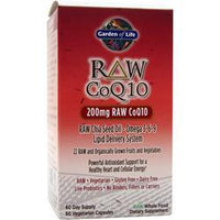 Buy Garden Of Life, Raw CoQ10, 60 vcaps at Herbal Bless Supplement Store