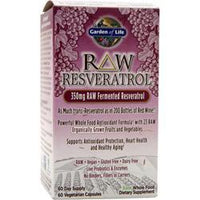 Buy Garden Of Life, Raw Resveratrol, 60 vcaps at Herbal Bless Supplement Store