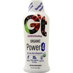 Buy Genesis Today, Power 4 - Organic Goji, Acai, Noni & Mangosteen Juice, 32 fl.oz at Herbal Bless Supplement Store