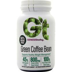 Buy Genesis Today, Pure Green Coffee Bean, 90 vcaps at Herbal Bless Supplement Store