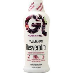 Buy Genesis Today, Vegetarian Resveratrol Liquid, 32 fl.oz at Herbal Bless Supplement Store