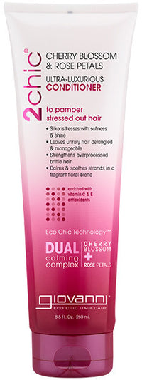 Buy Giovanni, Ultra-Luxurious Conditioner With Cherry & Rose, 8.5 oz at Herbal Bless Supplement Store