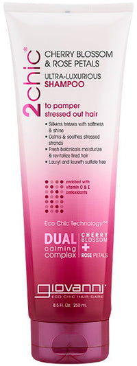 Buy Giovanni, Ultra-Luxurious Shampoo With Cherry & Rose, 8.5 oz at Herbal Bless Supplement Store