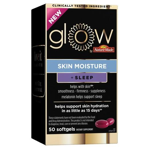Buy Glow by Nature, Made Skin Moisture + Sleep Softgels 50ct at Herbal Bless Supplement Store