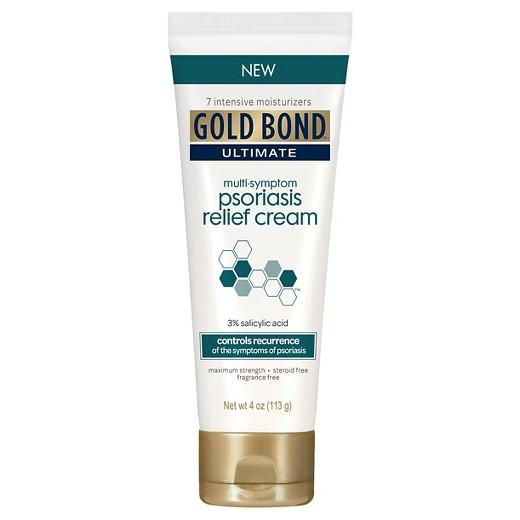 Buy Gold Bond®, Multi Symptom Psoriasis Relief Cream 4 oz at Herbal Bless Supplement Store