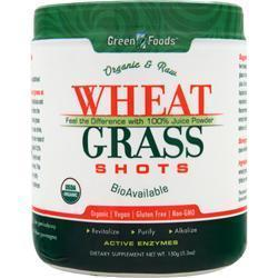 Buy Green Foods, Wheat Grass Shots, 5.3 oz at Herbal Bless Supplement Store