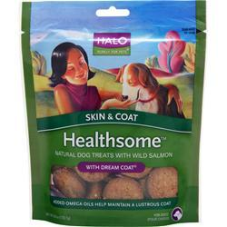 Buy Halo, Healthsome Natural Dog - Skin & Coat, w/ Wild Salmon 6 oz at Herbal Bless Supplement Store