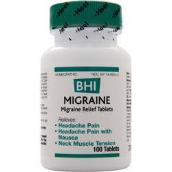 Buy Heel, BHI - Migraine, 100 tabs at Herbal Bless Supplement Store