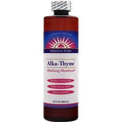 Buy Heritage Products, Alka-Thyme - Alkalizing Mouthwash, 16 oz at Herbal Bless Supplement Store