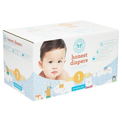 Buy Honest Company, Diapers Club BoxSnow Pals (Select Size) at Herbal Bless Supplement Store