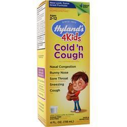 Buy Hylands Homeopathic ,4Kids Cold n' Cough, 4 fl.oz at Herbal Bless Supplement Store
