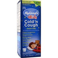Buy Hylands Homeopathic, 4Kids Cold 'n Cough Nightime, 4 fl.oz at Herbal Bless Supplement Store