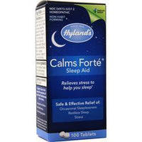 Buy Hylands Homeopathic, Calms Forte Sleep Aid at Herbal Bless Supplement Store