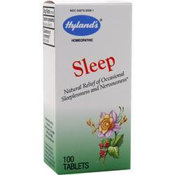Buy Hylands Homeopathic, Sleep, 100 tabs at Herbal Bless Supplement Store