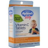 Buy Hylands Homeopathic, Vitamin C (25mg), Baby (Lemon) 125 tabs at Herbal Bless Supplement Store