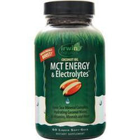 Buy Irwin Naturals, Coconut Oil MCT Energy & Electrolytes, 60 sgels at Herbal Bless Supplement Store