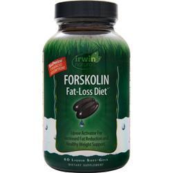 Buy Irwin Naturals, Forskolin Fat-Loss Diet, 60 sgels at Herbal Bless Supplement Store