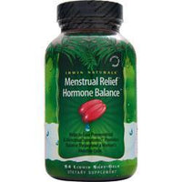 Buy Irwin Naturals, Menstrual Relief Hormone Balance, 84 sgels at Herbal Bless Supplement Store