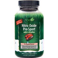 Buy Irwin Naturals, Pre-Sport with L-Citrulline, 60 sgels at Herbal Bless Supplement Store