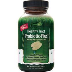 Buy Irwin Naturals, Probiotic-Plus - Healthy Tract, 60 sgels at Herbal Bless Supplement Store