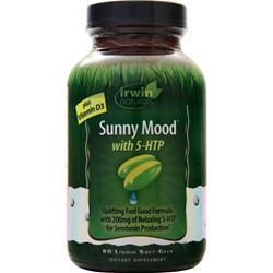 Buy Irwin Naturals, Sunny Mood with 5-Htp, 80 sgels at Herbal Bless Supplement Store