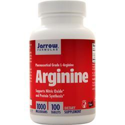 Buy Jarrow, Arginine 1000, 100 tabs at Herbal Bless Supplement Store