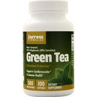 Buy Jarrow, Green Tea (500mg), 100 caps at Herbal Bless Supplement Store