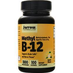 Buy Jarrow, Methyl B-12 (1000mcg), 100 lzngs at Herbal Bless Supplement Store
