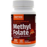 Buy Jarrow, Methyl Folate (400mcg), 60 vcaps at Herbal Bless Supplement Store
