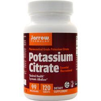 Buy Jarrow, Potassium Citrate (99mg), 120 tabs at Herbal Bless Supplement Store