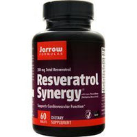 Buy Jarrow, Resveratrol Synergy 200, asy-Solv 60 tabs at Herbal Bless Supplement Store