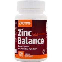 Buy Jarrow, Zinc Balance, 100 caps at Herbal Bless Supplement Store
