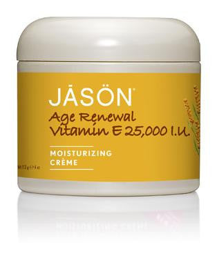 Buy Jason Natural, Age Renewal Vitamin E Cream 25,000 IU, 4 oz at Herbal Bless Supplement Store