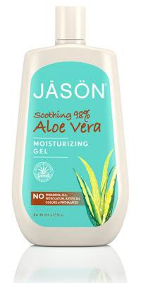 Buy Jason Natural, Aloe Vera Super Moisturizing Gel 98%, 16 oz at Herbal Bless Supplement Store
